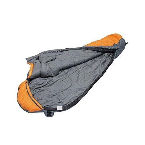 キャンプミイラの寝袋軽量ポータブル防水快適なコンプレッションサック - 2シーズンハイキングアウトドアアクティビティ