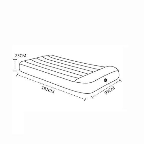ベッド、エアベッドインフレータブルベッドマットレス家庭折り畳み式屋外ポータブルベッド (サイズ さいず : 99*191*23cm)