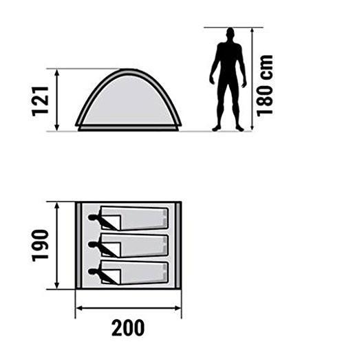 ZYN キャンプテント旅行屋外2-3人日保護シェーディング抗UV