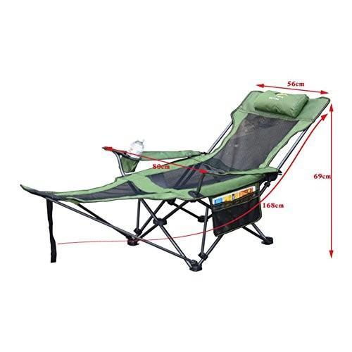折りたたみキャンプチェアオフィスランチブレークチェアキャンプ、フェスティバル、庭、釣り、ビーチ、バーベキューに最適な軽量で丈夫な屋外シート (色 :