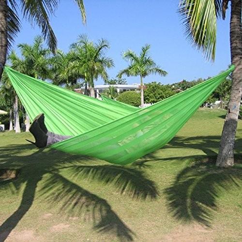 ストライプハンモック屋外2人ポータブルキャンプ観光230×160cm 5色オプション (色 : 2#)