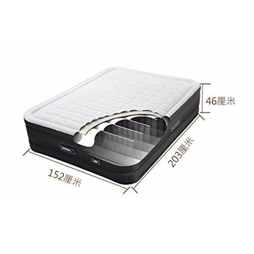 ベッド、厚い空気マットレスホームエアベッドダブルセルフ折りたたみベッドラグジュアリーエアベッド (サイズ さいず :