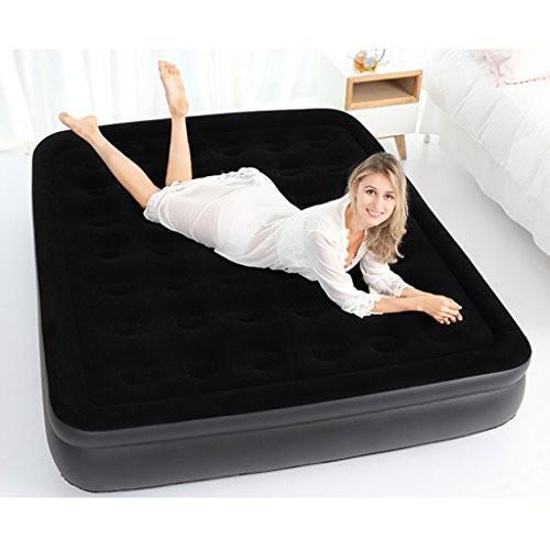 ベッド、屋外インフレータブル家庭用エアクッションマットレス折りたたみ式レイジーポータブルシンプル (サイズ さいず : 94*195*38cm)