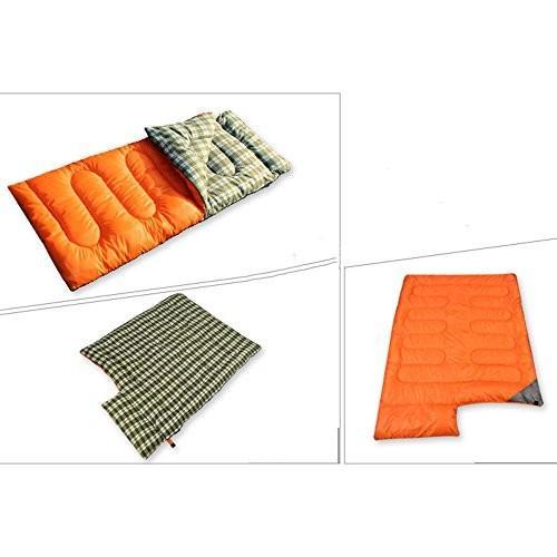 LJHA shuidai エンベロープ寝袋/スプライサブル/防水/キャンプハイキング屋外の長方形の綿の寝袋圧縮サック(190 + 30)*
