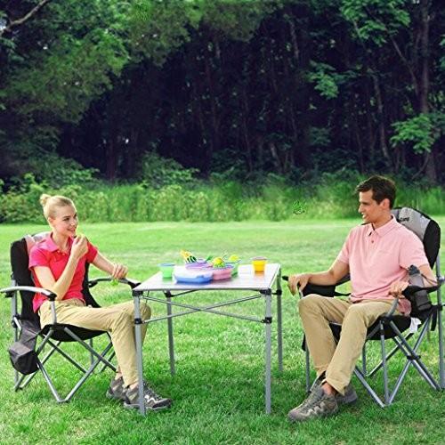 Moolo椅子アウトドア家具IronチューブLuxury Armchair折りたたみ椅子ビーチチェア
