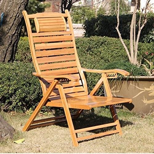 Lazy chair CHUNLAN ラウンジチェア 折りたたみチェア ホームバルコニーランチブレークレジャーチェア ビーチチェア