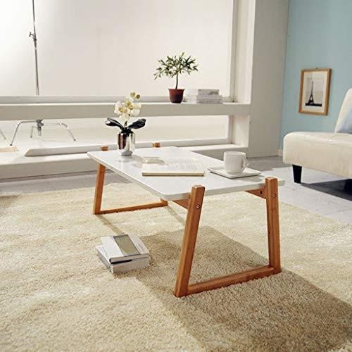 テーブル コーヒーテーブルテーブルリビングルームテーブルコンピュータテーブル小さなコーヒーテーブルバルコニーサイドテーブルローテーブル (Color