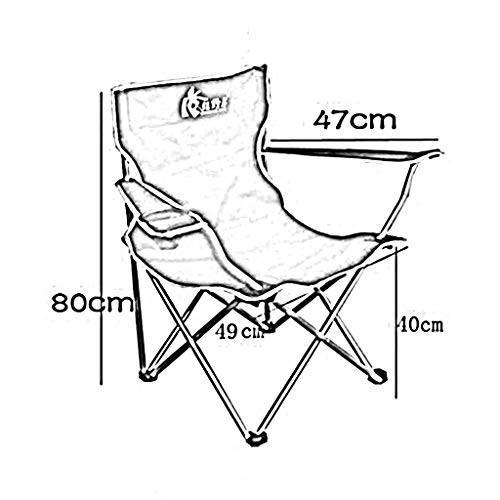 XY チェア・ベンチ 折り畳み式キャンプ用椅子屋外用アームチェア折り畳み式椅子ポータブル釣り用椅子ビーチチェア (色 : A)