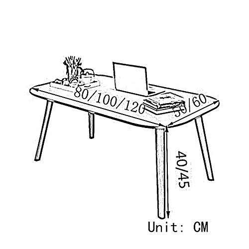HUO,テーブル コーヒーテーブルコーヒーテーブル現代ミニマルクリエイティブ小さなテーブルサイズオプション(60 * 50CM) 多機能 (色 :