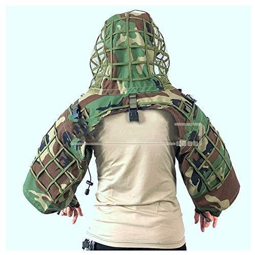 狩猟服、3Dカモ、スナイプ迫撃砲に適し森林軍隊狩猟撮影、マルチスタイルマルチカラーオプション (色 : A-1)