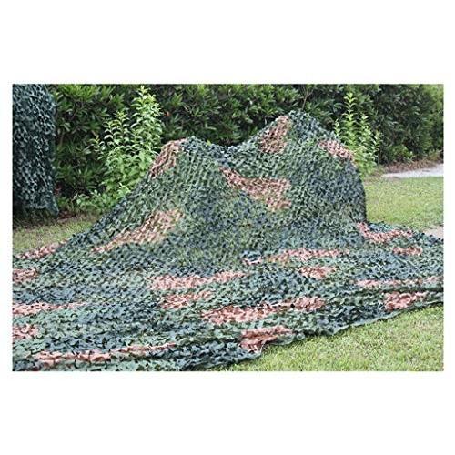 カモフラージュネット屋外陸軍のキャンプの保護のための3色の大きな花ハロウィーンの撮影/サイズの選択 (サイズ さいず : 4m*5m)