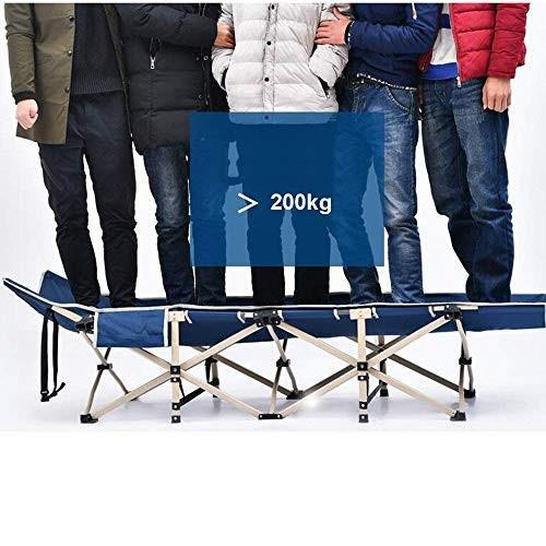 ベンチ 椅子の重力ラウンジキャンプ用寝袋大人のための、持ち運び可能な折りたたみ式簡易ベッドキャリーバッグ2のベッド屋外庭のための色 (A++) (色