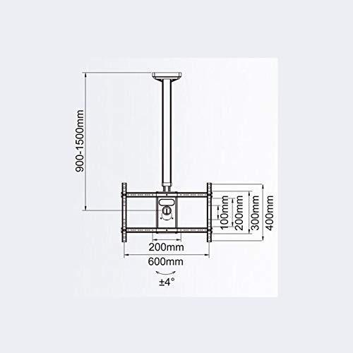 天井のテレビマウント、32-60 インチ LED