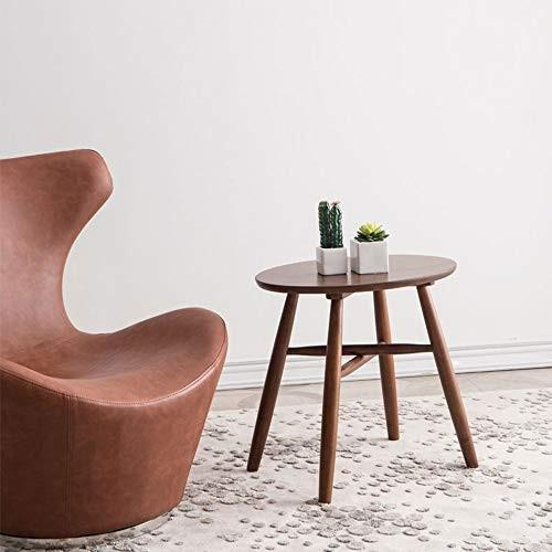 HUO,テーブル すべてのソリッドウッド小さなラウンドテーブルサイドテーブル小さなコーヒーテーブルソファサイドテーブル電話テーブルコーヒーテーブル