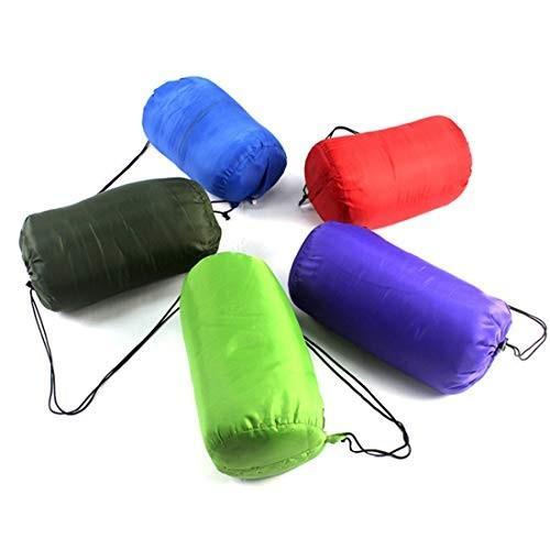 Wanc 3シーズン対応 春、夏、秋 キャンプ用寝袋 (Color : オレンジ, サイズ : 950g)
