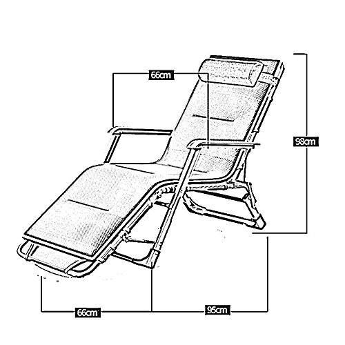 KTYXDE 折りたたみベッドシングルベッドランチタイムシンプル折りたたみチェアランチブレークチェア 折りたたみ椅子