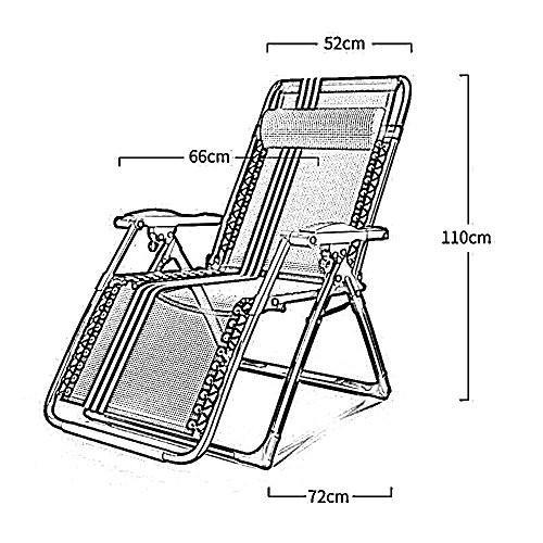 KTYXDE 折りたたみ椅子夏の昼食休憩ラウンジオフィスポータブルビーチチェアラウンジチェア 折りたたみ椅子 (色 : 4)