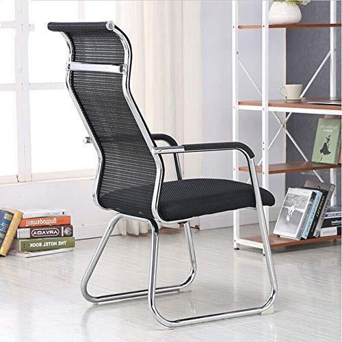 コンピュータチェア、強力なソリッドホームレジャーチェアシンプルなファッションメッシュ通気性のオフィスチェア弓形の会議の家の椅子