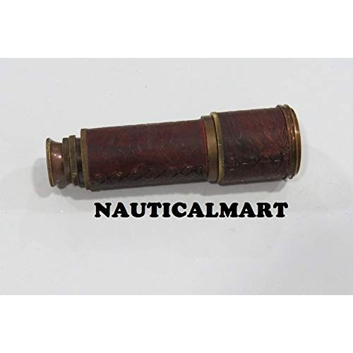 """NauticalMart 16"""" Maritime Kelvin & Hughes Brass Telescope"""