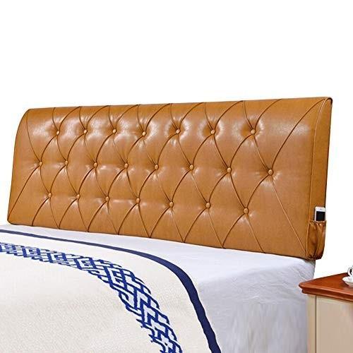 LIANGLIANG クションベッドの背もたれ寝室ベッドヘッドレスト読む バック サポートダブル 特大 スポンジ 充填 、2色、22サイズ (色 :