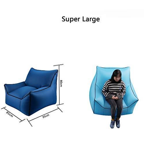 インフレータブルエアチェア/ソファ/ラウンジチェア高品質現代ファンキーデザインポータブル折りたたみ屋外/屋内30スタイル (色 : I, サイズ