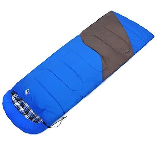 LilyAngel キャンプの寝袋 - 封筒軽量のポータブル防水で快適なサック - 2シーズンの旅行に最適ハイキング屋外アクティビティ (Color