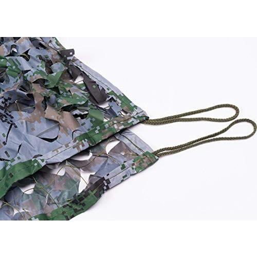 迷彩ネットウッドランド迷彩ネット軍ファン迷彩軽量耐久性のあるシェードネット、装飾的な狩猟ブラインド射撃キャンプ写真撮影ジャングル (Size :