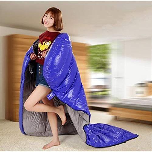 Durable,breathable,comfortableスリーピングバッグ、大人封筒睡眠袋ポータブル軽量キャンプ睡眠袋快適な暖かい屋外スリーピング