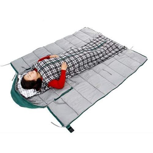 2.5キログラム冬超軽量ダウンコットン寝袋怠惰な手の寝袋取り外し可能な洗浄ライナー屋外寝袋