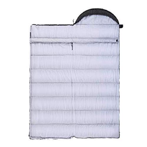 屋外の超軽量大人の寝袋キャンプキャンプは二重寝袋ステッチすることができます