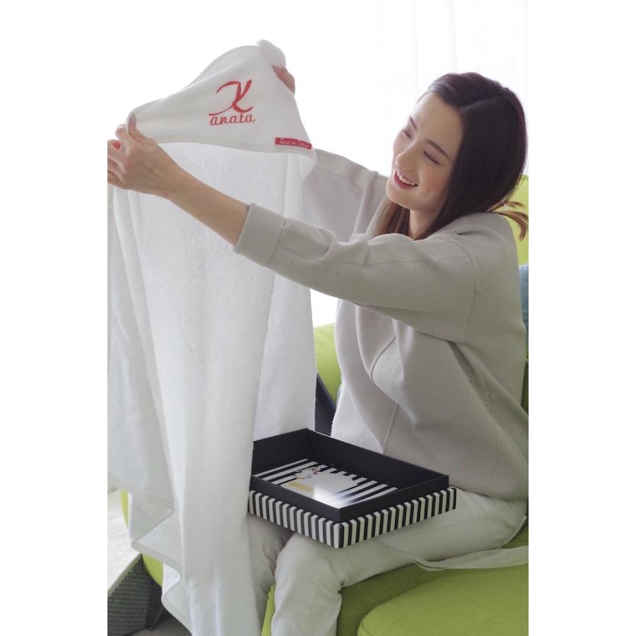竹布100%くま耳厚地プレミアムタオルGIFTBOX(名入れ商品)ホワイト angena-shop 06