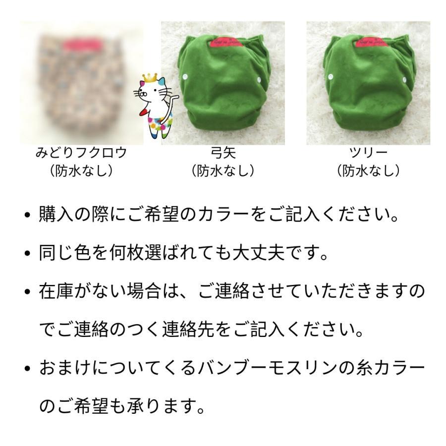 竹布バンブーおむつカバー10枚セットバンブーモスリン5枚付きAnge na Japan angena-shop 04