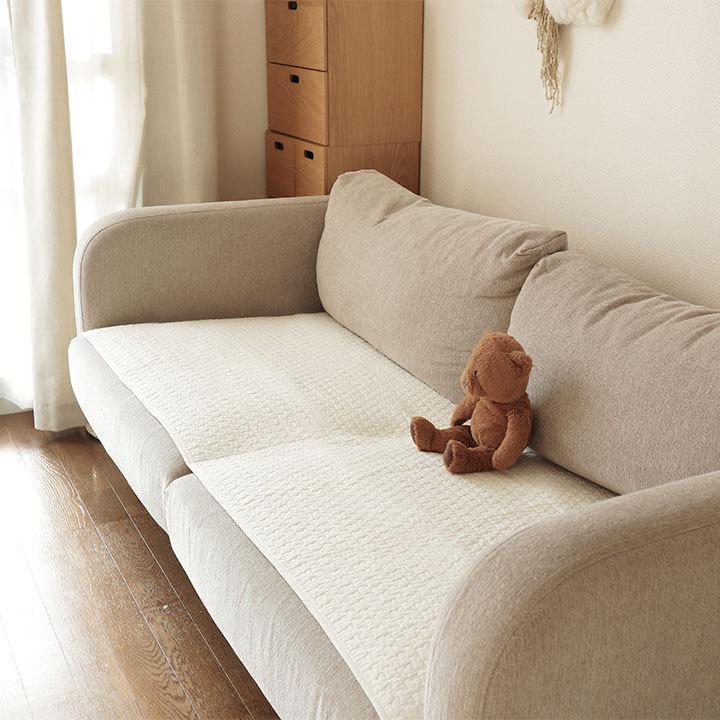 イブル ソファーパッド 新品未使用 特価品コーナー☆ mofua 65×170cm