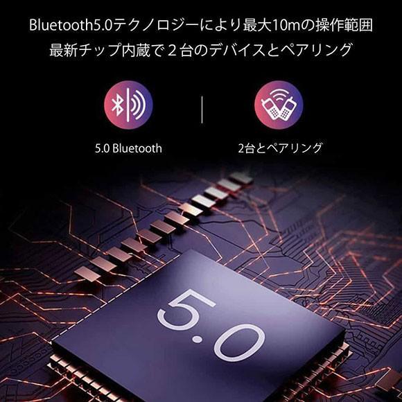 ワイヤレスイヤホン 片耳 片掛け iPhone Pixel Xperia Bluetooth5.0 カナル型 高音質 2台同時 完全ワイヤレス ブルートゥース 右 左 ブラック レッド ブルー anglers-case 04