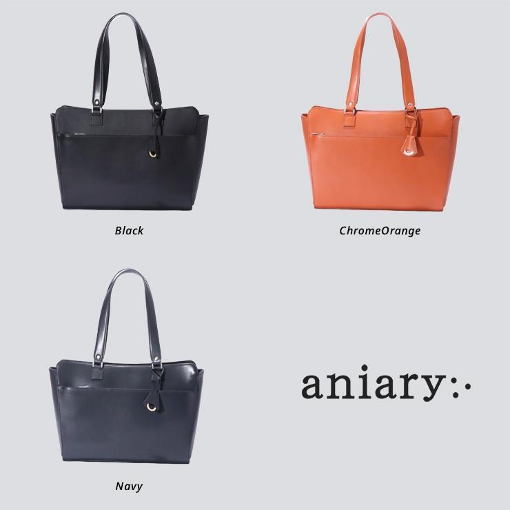 トートバッグ メンズ アニアリ・aniary アクシスレザー  牛革  Tote 26-02000|aniary-shop|02