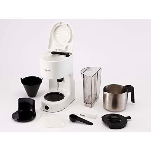 タイガー コーヒーメーカー 6杯用 ステンレス サーバー ホワイト ACC-S060-W Tiger (ホワイト 5-6カップ)|anichance|03