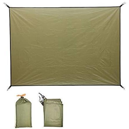 Norther30° グランド シート テント キャンプ マット ピクニック ブランケット ピクニック 緑 150×200cm anichance