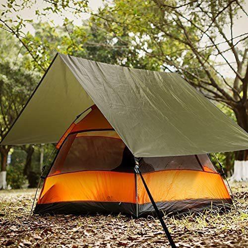 Norther30° グランド シート テント キャンプ マット ピクニック ブランケット ピクニック 緑 150×200cm anichance 07