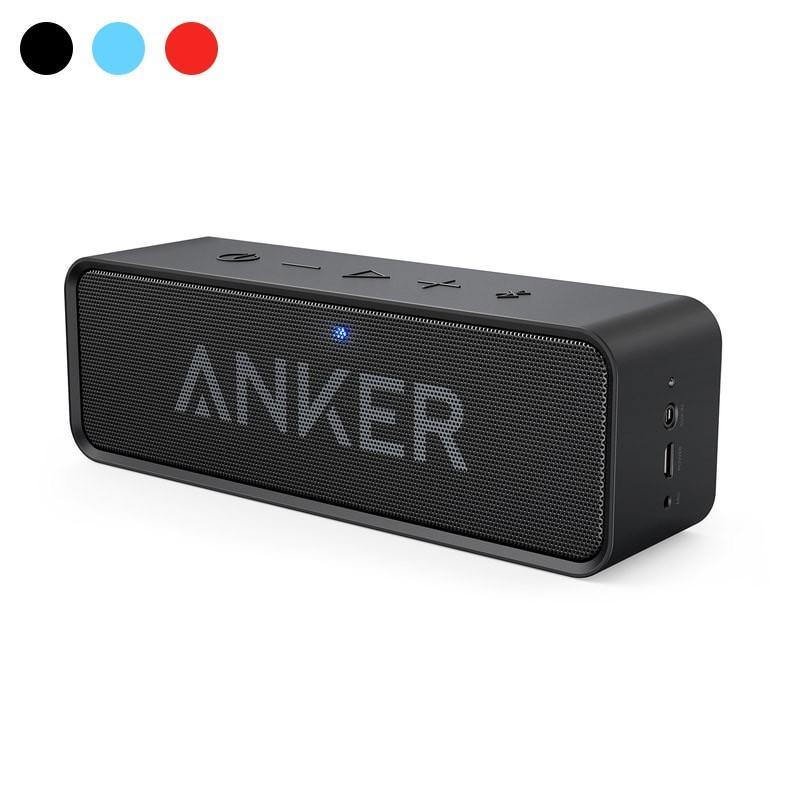 Anker Soundcore ポータブルスピーカー 正規逆輸入品 Bluetooth4.2 24時間連続再生可能 激安超特価 ワイヤレス デュアルドライバー 内蔵マイク搭載 ブラック