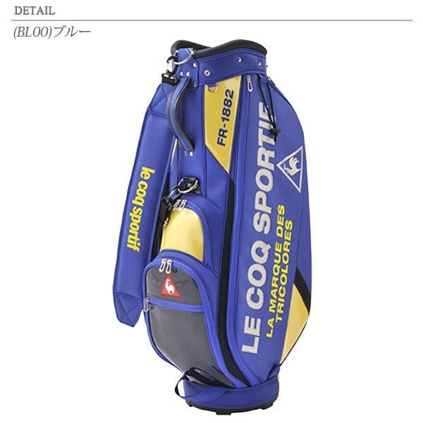 送料無料! ルコック ゴルフ ロゴデザインエナメルキャディバッグ 9.0型 QQBPJJ08 2020春夏 annexsports 03