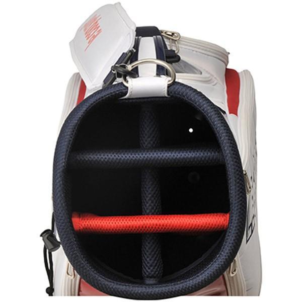 送料無料! ルコック ゴルフ ロゴデザインエナメルキャディバッグ 9.0型 QQBPJJ08 2020春夏 annexsports 08