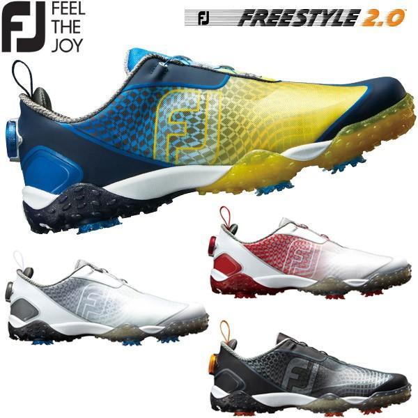 フットジョイ フリースタイル2.0 ボア ゴルフシューズ メンズ FREESTYLE 2.0 Boa 2018モデル