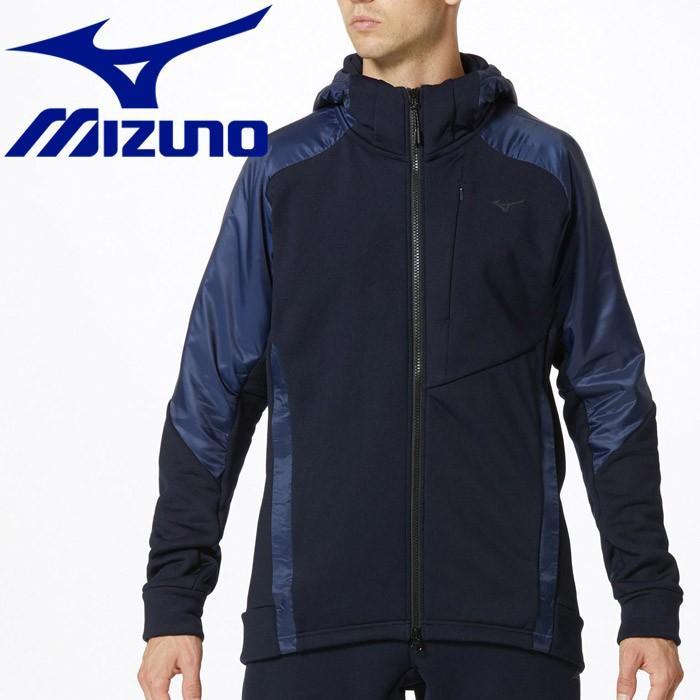 ミズノ ストレッチフリースヘビージャケット メンズ 32MC955414