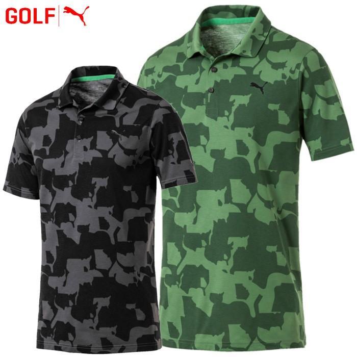 プーマ ゴルフウェア メンズ ゴルフ ユニオン カモ ポロシャツ 577911 2019春夏