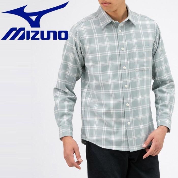 ミズノ アウトドア ブレスサーモ トレイルシャツ メンズ B2MC950705