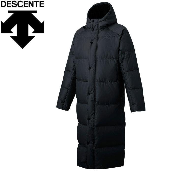 正規通販 クリアランスセール デサント スーパーロングダウンコート メンズ DMMOJC43-BK, CZONE 879ab8e2