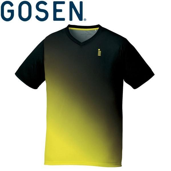 ゴーセン テニス ウェア 半袖ゲームシャツ メンズ レディース T1716-39 ゆうパケット配送