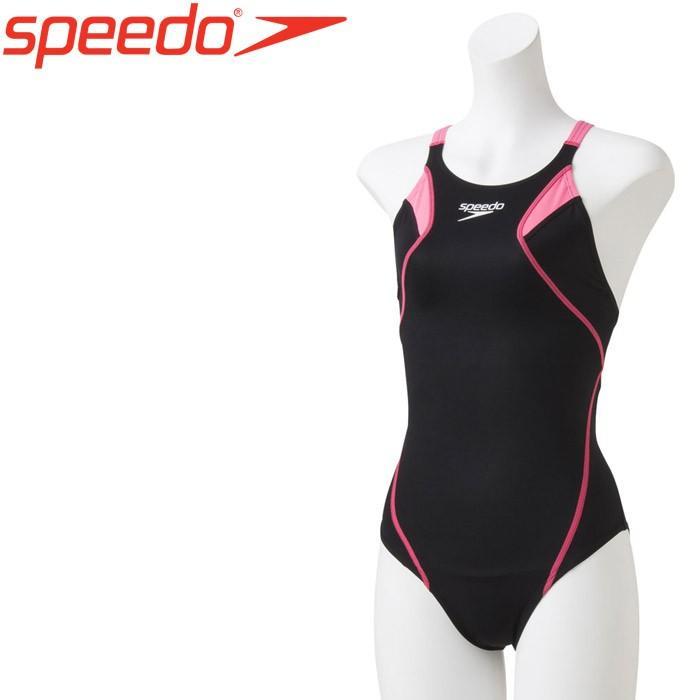 スピード 水泳 アトラススーツ 競泳 水着 レディース SCW01906F-BP