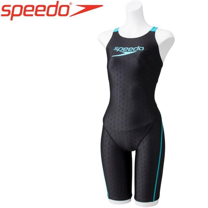 スピード 水泳 Stack logo ウィメンズスパッツスーツ フィットネス 水着 レディース SD58N52-LU