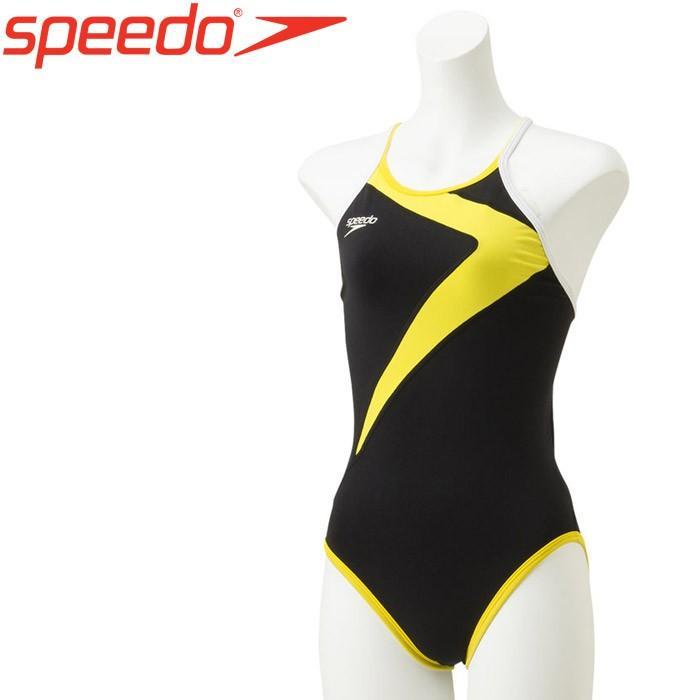 スピード 水泳 クイックターンズスーツ 競泳 水着 ガールズ ジュニア STG01902-YE